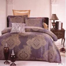 Комплект постельного белья из жаккарда Valtery JC-18 двуспальный