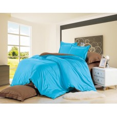 Комплект постельного белья из сатина Valtery LS05 семейный