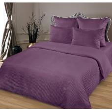 Комплект постельного белья из сатина Butterfly Черника евро