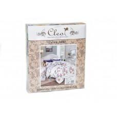 Комплект постельного белья из сатина Cleo SL-025 дуэт