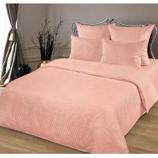 Комплект постельного белья из сатина Butterfly Персик полуторный