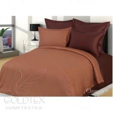 """Комплект  постельного белья из бамбука """"Chocolate"""" евро"""