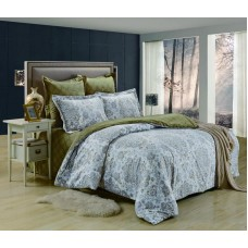 Комплект постельного белья из сатина Valtery C235 дуэт