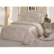 Комплект постельного белья из жаккарда Cleo CLJ-106 евро
