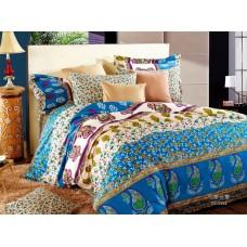 Комплект постельного белья из сатина Valtery C-132 евро