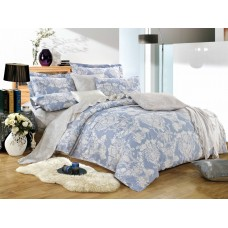 Комплект постельного белья из сатина Cleo SL-059 евро