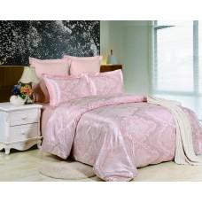 Комплект постельного белья из жаккарда Valtery JC38 семейный