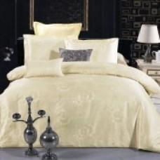 Комплект постельного белья из жаккарда Valtery JC-16 двуспальный