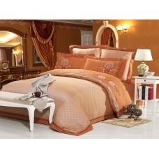 Комплект постельного белья из жаккарда Cleo CLJ-095 евро