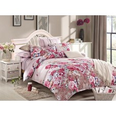 Комплект постельного белья из сатина Cleo SL-020 евро