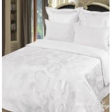 """Комплект постельного белья из жаккарда Soft-tex """"Свадебный"""" двуспальный"""