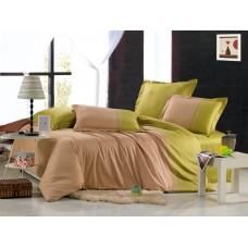 Комплект постельного белья из сатина Valtery OD-12 евро