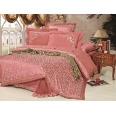 Комплект постельного белья из жаккарда Cleo CLJ-090 евро