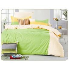 Комплект постельного белья из сатина Valtery OD-38 евро