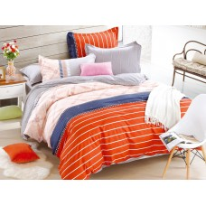 Комплект постельного белья из сатина Cleo SL-039 евро