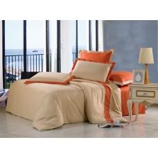Комплект постельного белья из сатина Valtery OD-17 евро