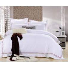 Комплект постельного бельяиз сатина с вышивкой Famille ES-18 евро