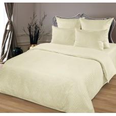 Комплект постельного белья из сатина Butterfly Шампань двуспальный