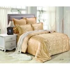 Комплект постельного белья из жаккарда Valtery JC127 евро