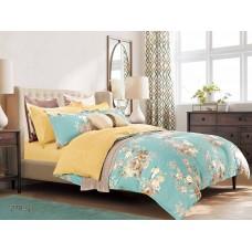 Комплект постельного белья из сатина Cleo SP-278 двуспальный