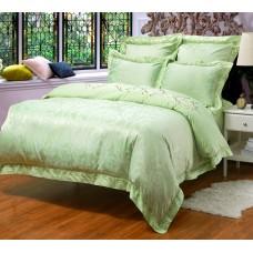 Комплект постельного белья из жаккарда Cleo CLJ-118 евро