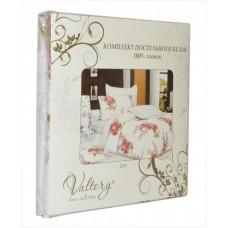 Комплект постельного белья из сатина Valtery C-136 дуэт
