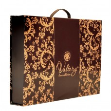 Комплект постельного белья из сатина с вышивкой Valtery 100-57 двуспальный