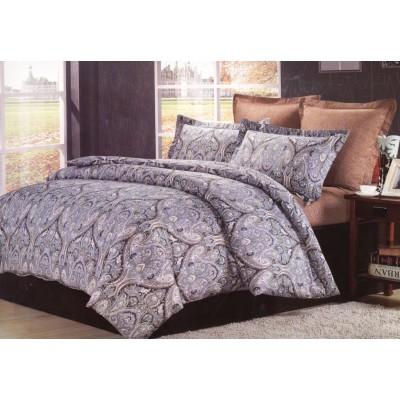 Двуспальное постельное белье сатин Valtery C-186