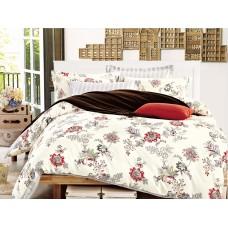 Комплект постельного белья из сатина Cleo SP-251 полуторный
