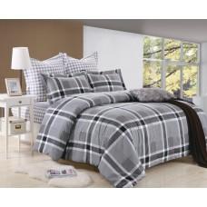 Комплект постельного белья из сатина Valtery C-218 двуспальный