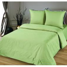 Комплект постельного белья из сатина Butterfly Олива евро