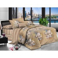 Комплект постельного белья из сатина Cleo SL-005 двуспальный