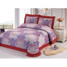 Комплект постельного белья из жаккарда Cleo CLP-012 евро
