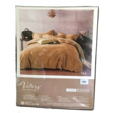 Комплект постельного белья из сатина Valtery LS03 семейный