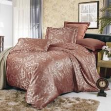 Комплект постельного белья из жаккарда Valtery JC-07 евро