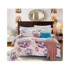 Комплект постельного белья из сатина  Cleo SP-212 дуэт